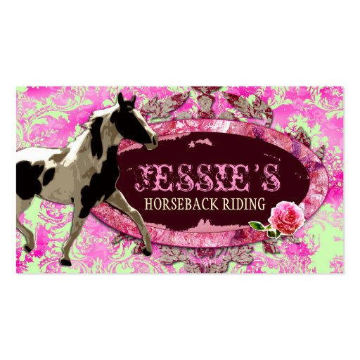 "GC ""AnnaBelles"" Horse Ranch Double-Sided Standard Business Cards (Pack Of 100)"