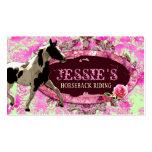 "GC ""AnnaBelles"" Horse Ranch Business Card Templates"