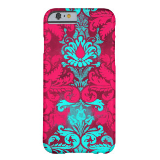 GC Aqua Red Bliss 2 Vintage Damask iPhone 6 Case
