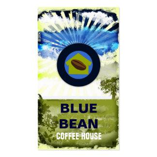 GC | Blue Bean Coffee House Business Card