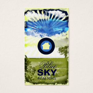GC | Blue Sky Business Card with Logo