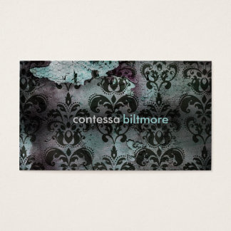 GC | Captivating Contessa | Teal Business Card