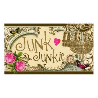 GC Customizable Junk Junkie Business Card