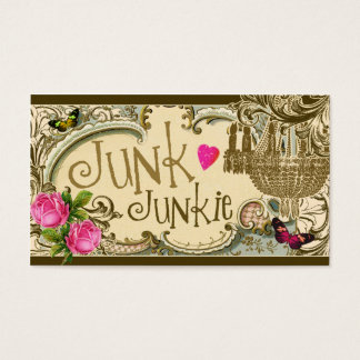 GC Customizable Junk Junkie Business Card
