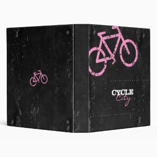 GC Cycle City Concrete - Pink Vinyl Binder