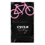 GC | Cycle City Concrete - Pink Business Card