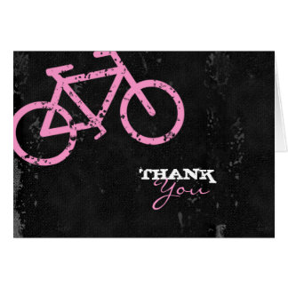 GC | Cycle City Concrete - Pink Greeting Card