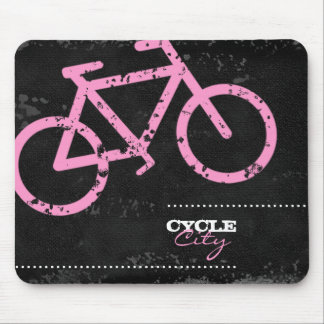 GC | Cycle City Concrete - Pink Mouse Pads