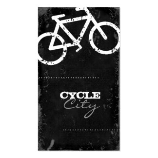 GC Cycle City Concrete - White Business Cards