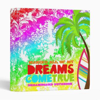 GC Dreams Come True Dream Board Notebook Keeper 3 Ring Binder