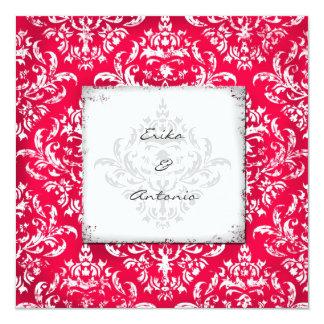 GC | Erika Vintage Damask-Red Card