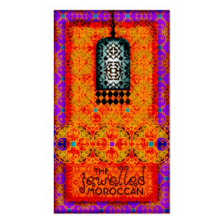 GC | Exotic Jewelled Moroccan Business Card