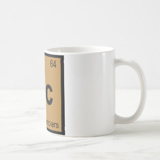 Gc - Graham Crackers Chemistry Periodic Table Classic White Coffee Mug