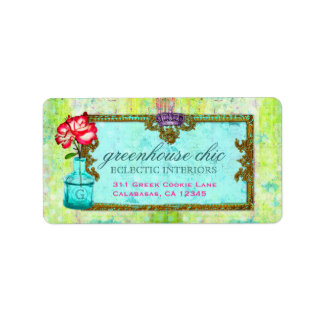 GC Greenhouse Chic Label