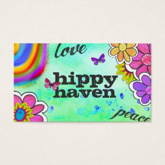 GC | Hippy Tie Dye Blue Business Card