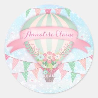GC Hot Air Balloon Sticker