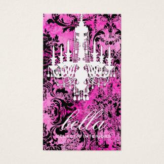 GC | Jolie Chandelier | Gold Metallic Business Card