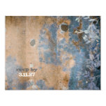 GC | Lusciously Rustic RSVP  | Golden Metallic 4.25x5.5 Paper Invitation Card