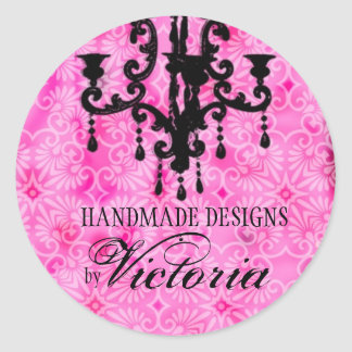 GC | Lustre Passione Pink Classic Round Sticker
