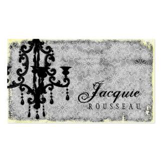 GC   Lustre Passionné - Grey Business Card