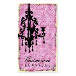 GC | Lustre Passionné - Pale Pink Business Card Templates