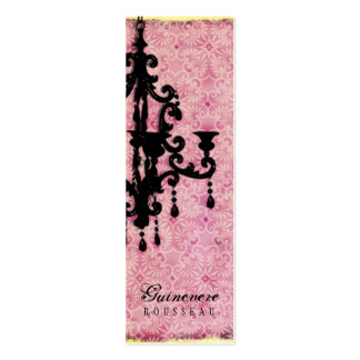GC | Lustre Passionné - Pale Pink Double-Sided Mini Business Cards (Pack Of 20)