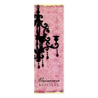 GC | Lustre Passionné - Pale Pink Business Card Template