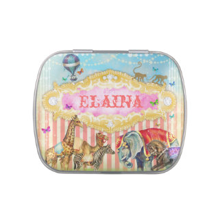 GC Magical Join the Circus Vintage Candy Tin