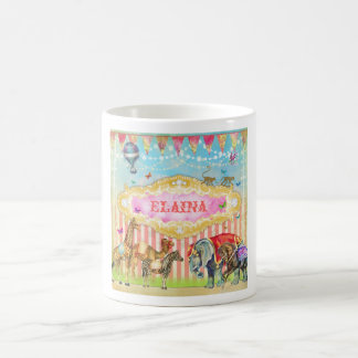 GC Magical Join the Circus Vintage Classic White Coffee Mug