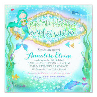 GC Magical Mermaid Invitation