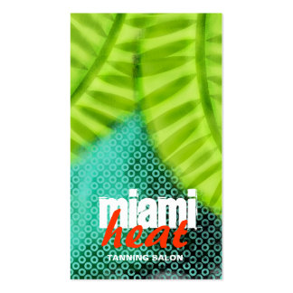 GC | Miami Heat Wave Grunge Business Cards