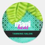 GC | Miami Heat Wave Sticker
