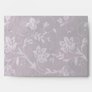 GC | Passionately Purple Floral Vintage Envelopes