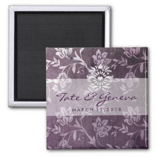 GC | Passionately Purple Floral Vintage Magnet