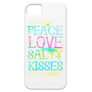 GC Peace Love Salty Kisses iPhone Case