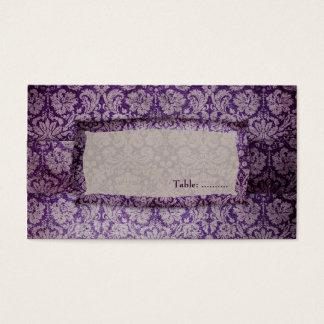 GC | Purple Rapture Place Card