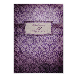 GC | Purple Rapture Vintage Invitation