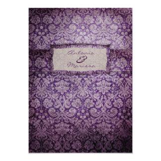 GC | Purple Rapture Vintage Invitation