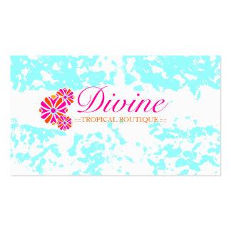 GC Refreshing Water Grunge Business Card Templates