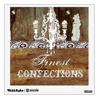 GC Shabby Cake Stand Wall Decal