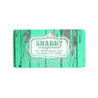 GC Shabby Vintage Green Label