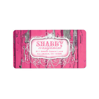 GC Shabby Vintage Pink Label