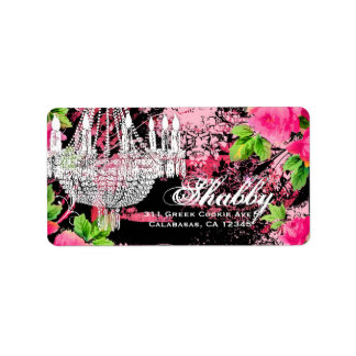 GC Shabby Wild Garden Couture Chandelier Label