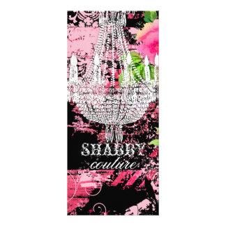 GC Shabby Wild Garden Couture Chandelier Rack Card