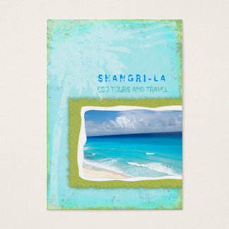 GC Shangri-La Forever Turquoise Business Card