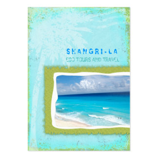 GC | Shangri-La Forever Turquoise Chubby Large Business Cards (Pack Of 100)