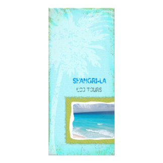 GC | Shangri-La Forever Turquoise Chubby Rack Card