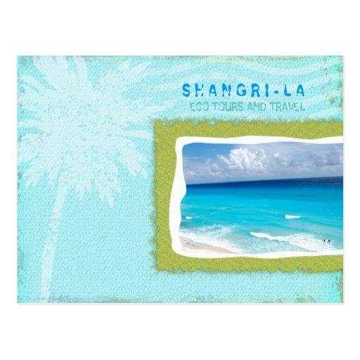 GC | Shangri-La Forever Turquoise Postcard
