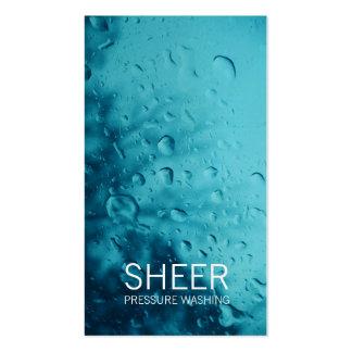 GC   Sheer Water Blue Business Card