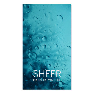 GC | Sheer Water Blue Business Card